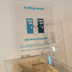 Graydon A-Rating Award uitgereikt